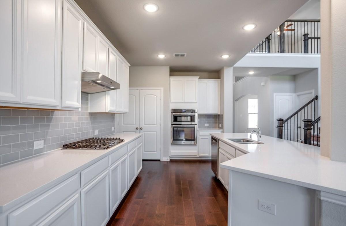 Brookhaven quick move-in Brookhaven all white kitchen