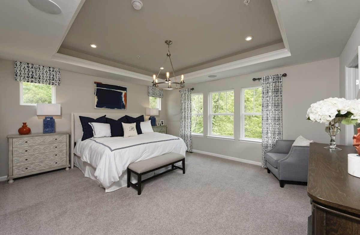 Enclave at Westmount Nottingham Nottingham Master Bedroom