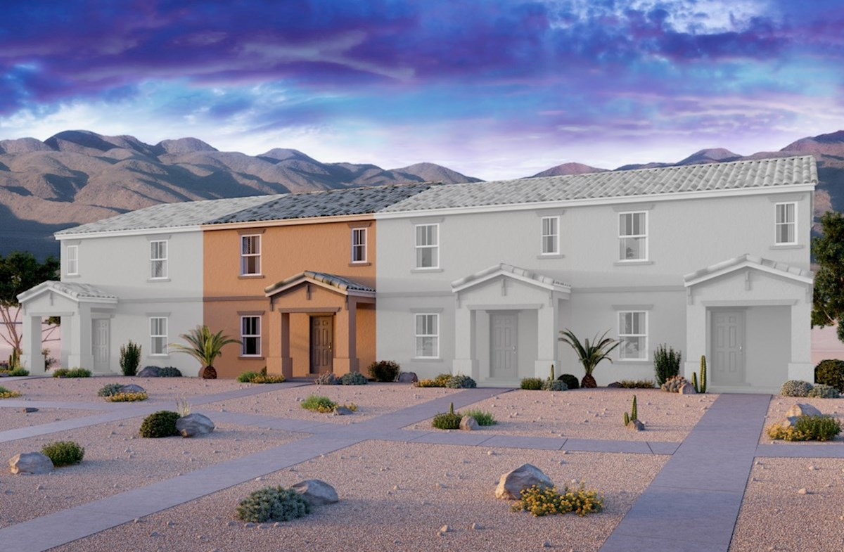Durham Home Plan In Cliffs At Dover Las Vegas Nv