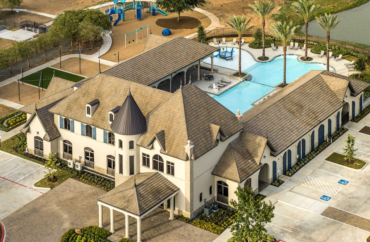 resort-style pool, playground & dog park