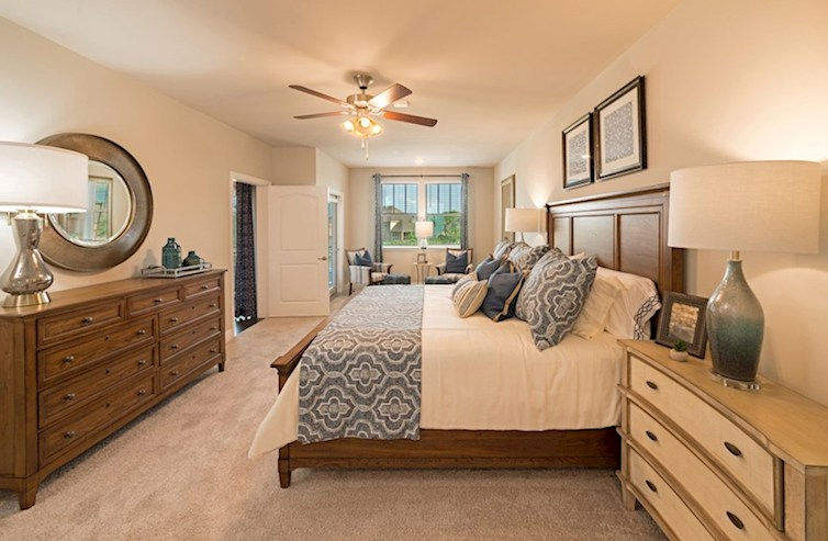 Gatherings® at Mercer Crossing Dorset Dorset Master Bedroom
