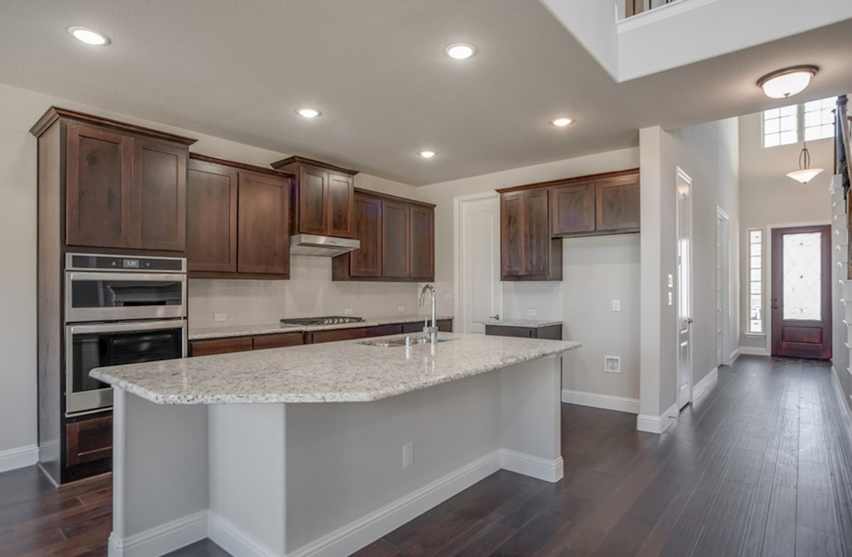 Aberdeen quick move-in kitchen with large island