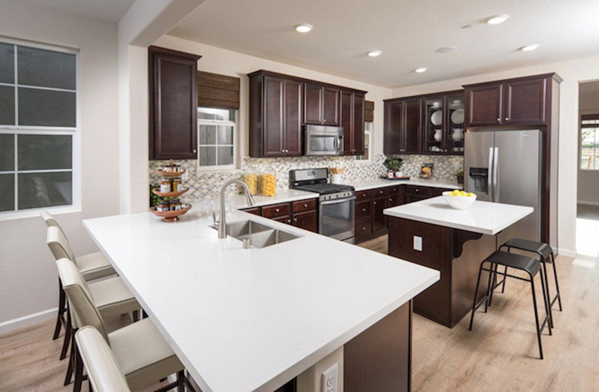 Natomas Field Residence 3 open-concept kitchen