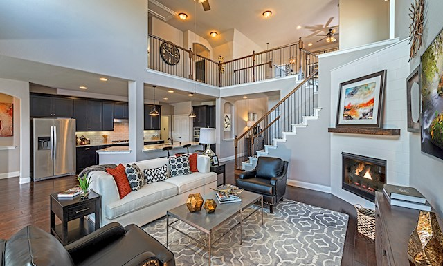 Brookhaven model home