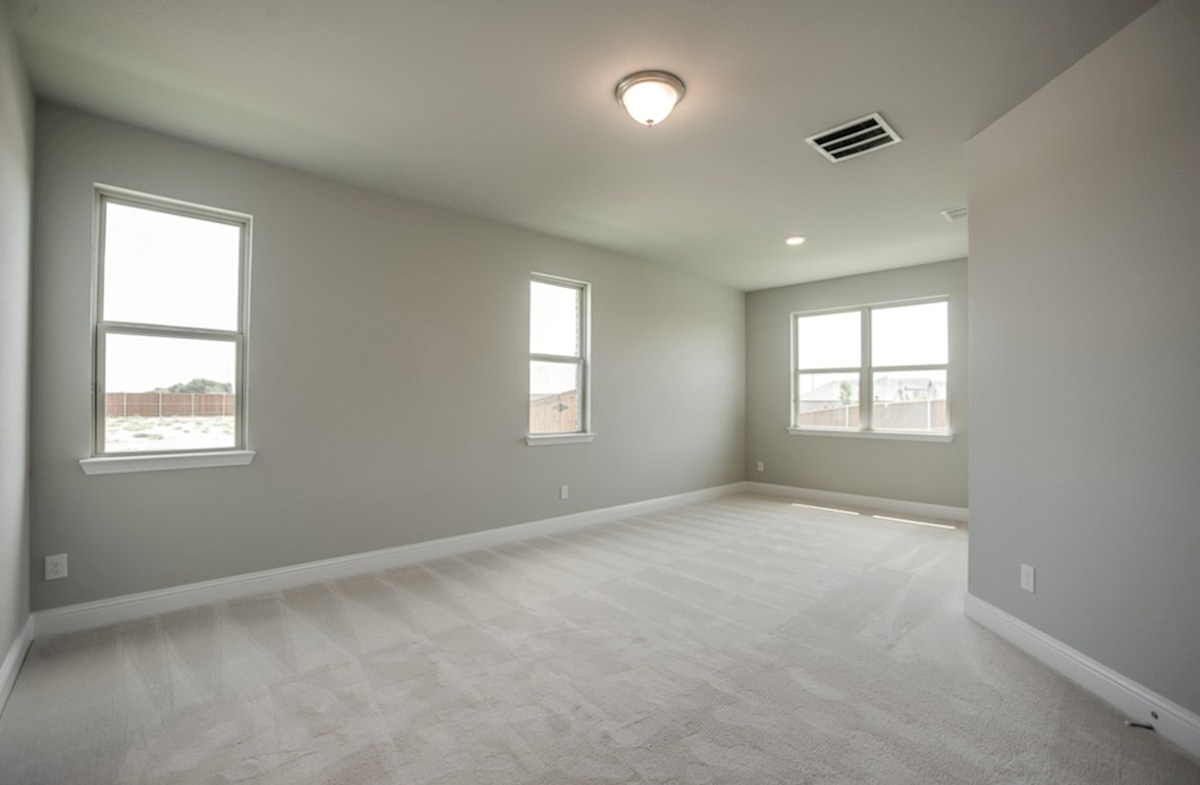 Prescott quick move-in master bedroom with sitting room