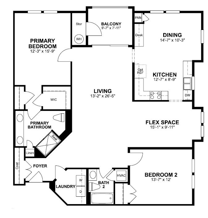Floorplan of Chestnut
