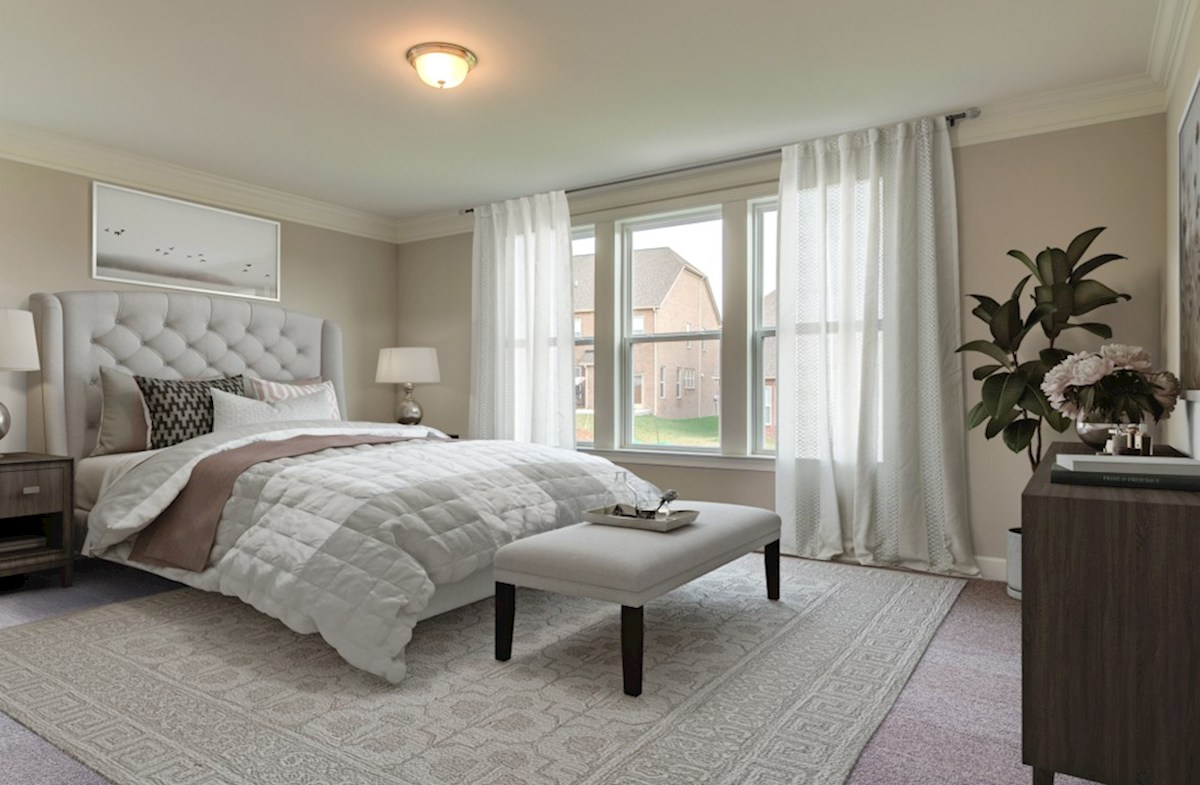 Dogwood quick move-in gracious master bedroom