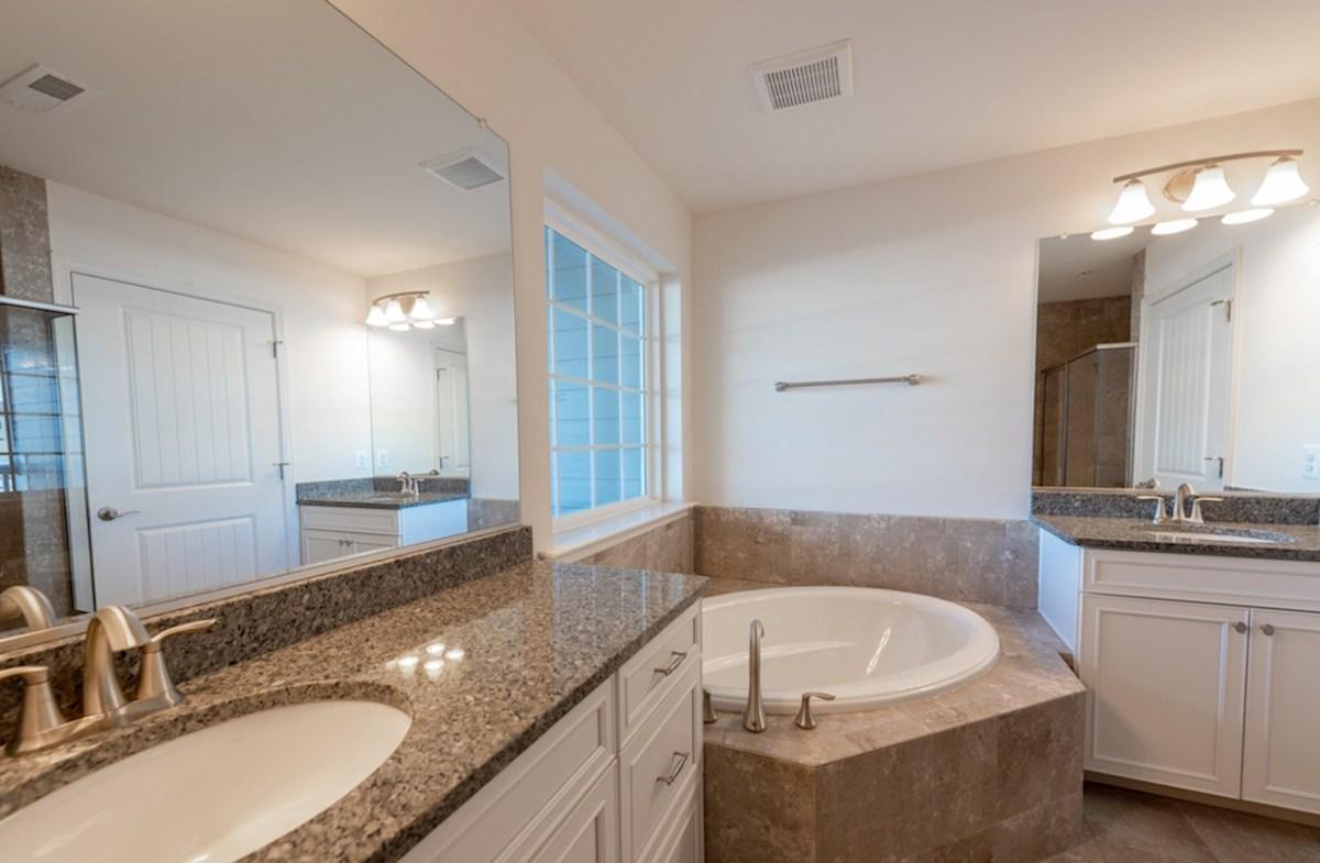 Fenwick quick move-in Fenwick 2nd master bathroom with multiple vanities