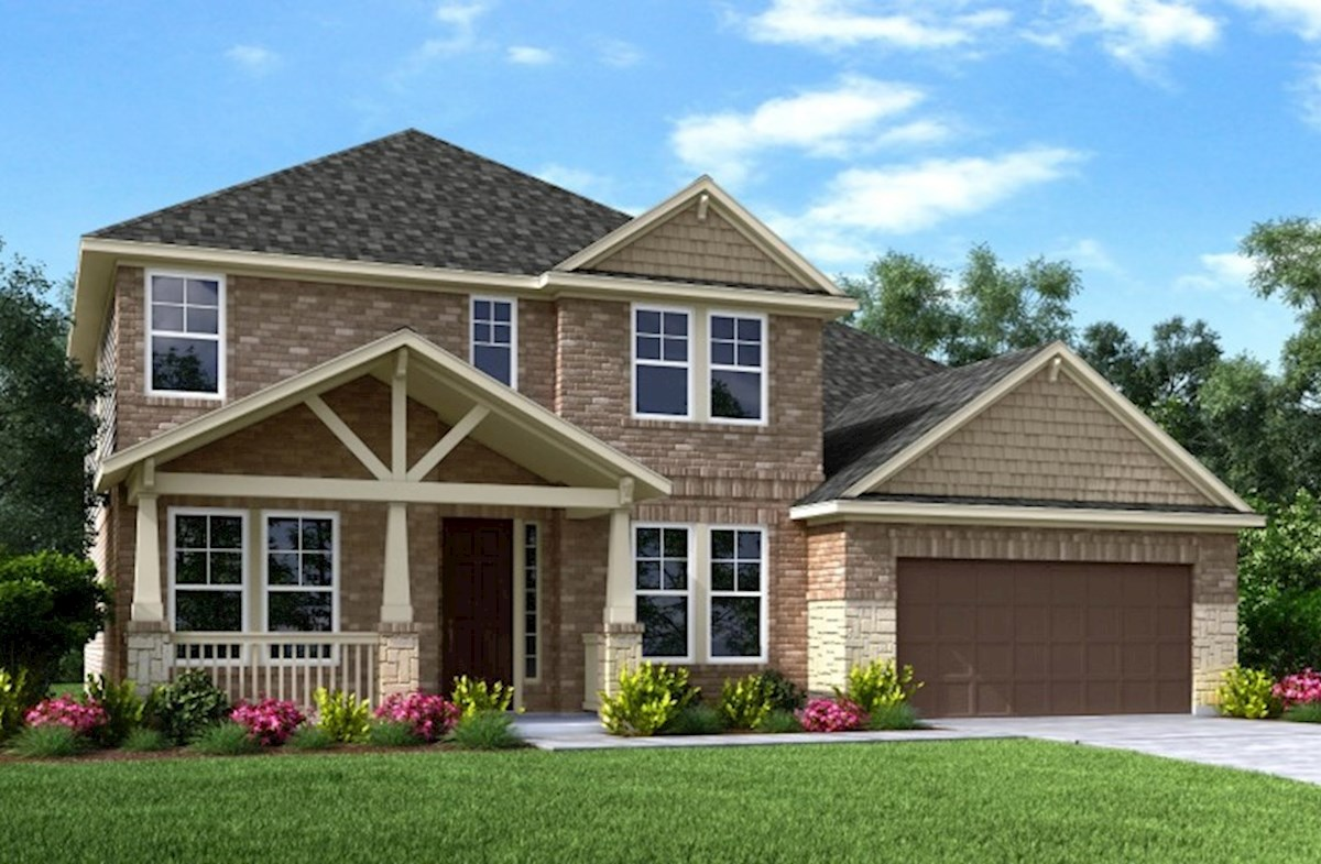 Gruene Home Plan In Wildwood At Oakcrest, Cypress, TX