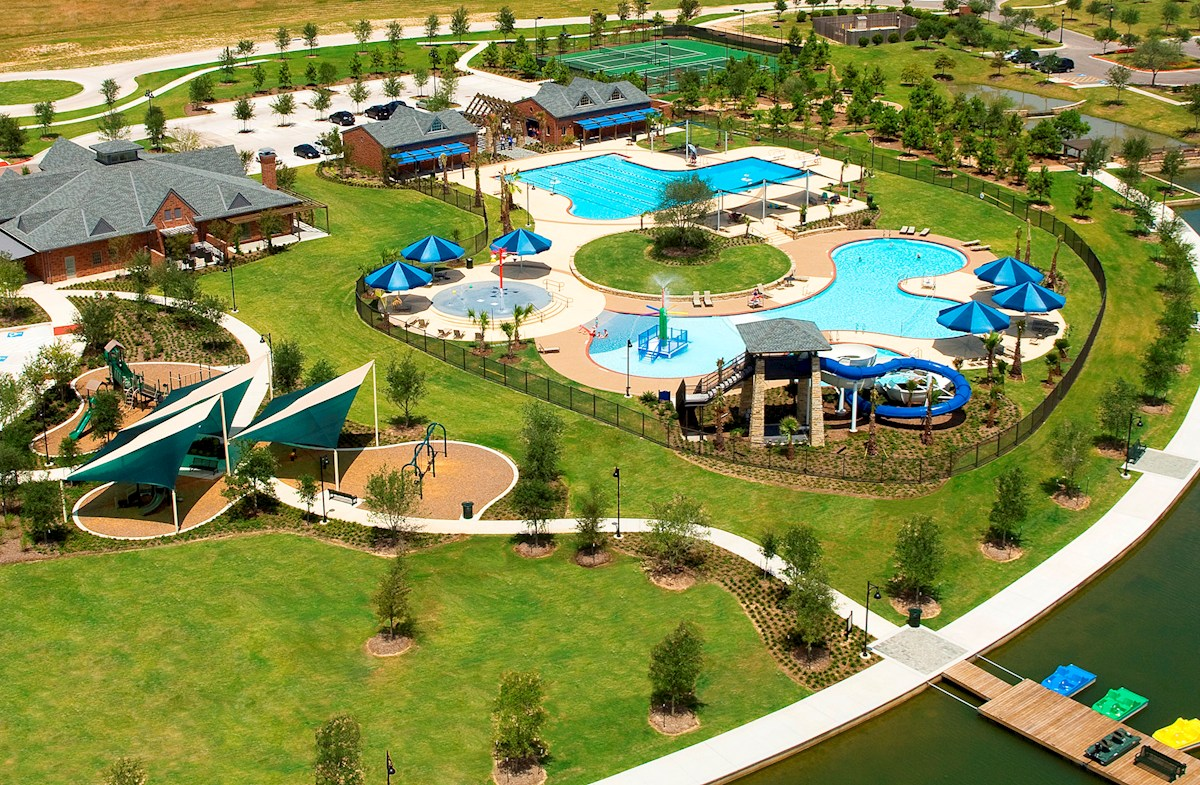 Resort-Style Pool & Playground