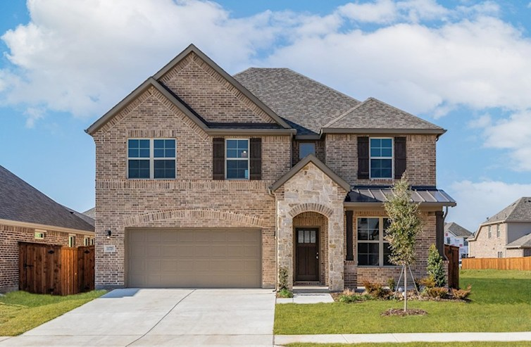 Laredo Elevation French Country A quick move-in