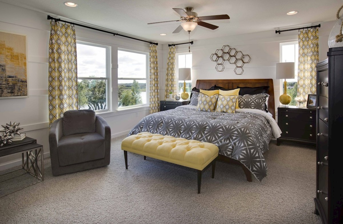 Richmond End quick move-in relaxing master bedroom