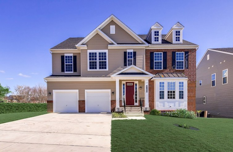 Federalsburg Elevation Traditional  M quick move-in