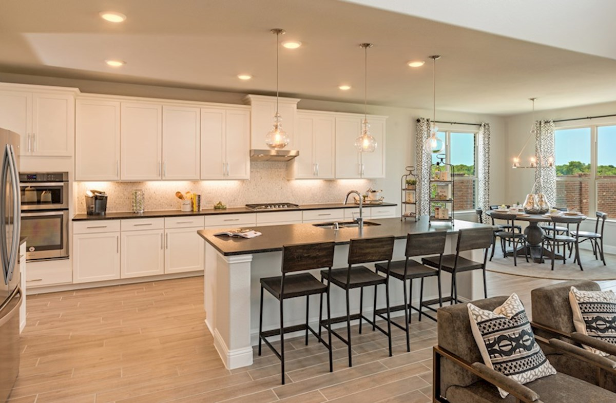 Miramonte Albany Albany kitchen features large island