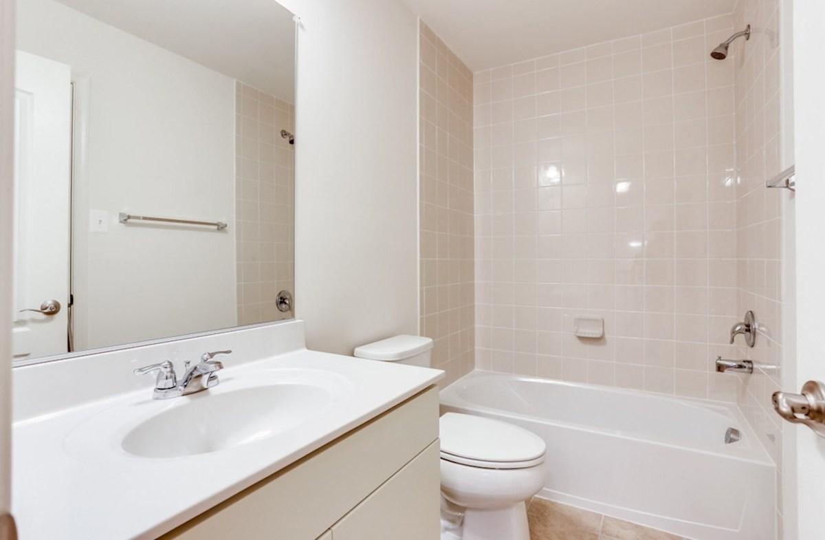 The Preserve at Windlass Run - Single Family Homes Pembrooke Pembrooke Secondary Bathroom