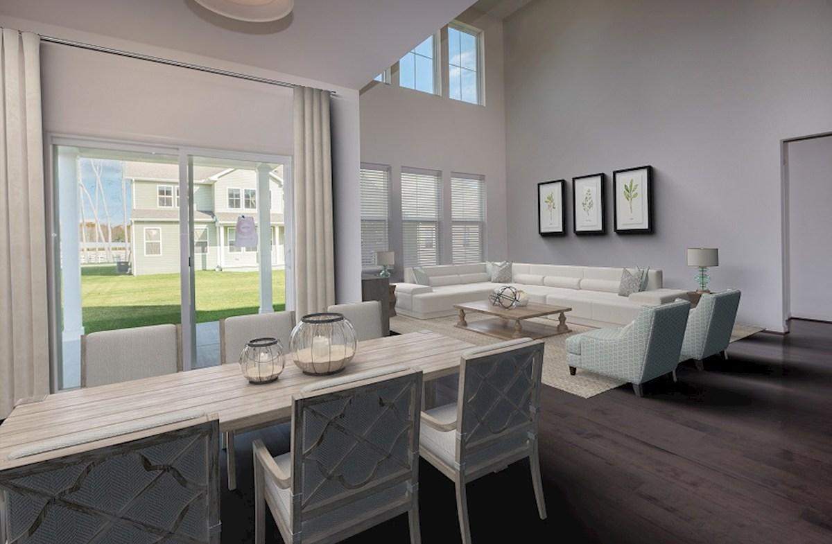Newport quick move-in Open-concept home design