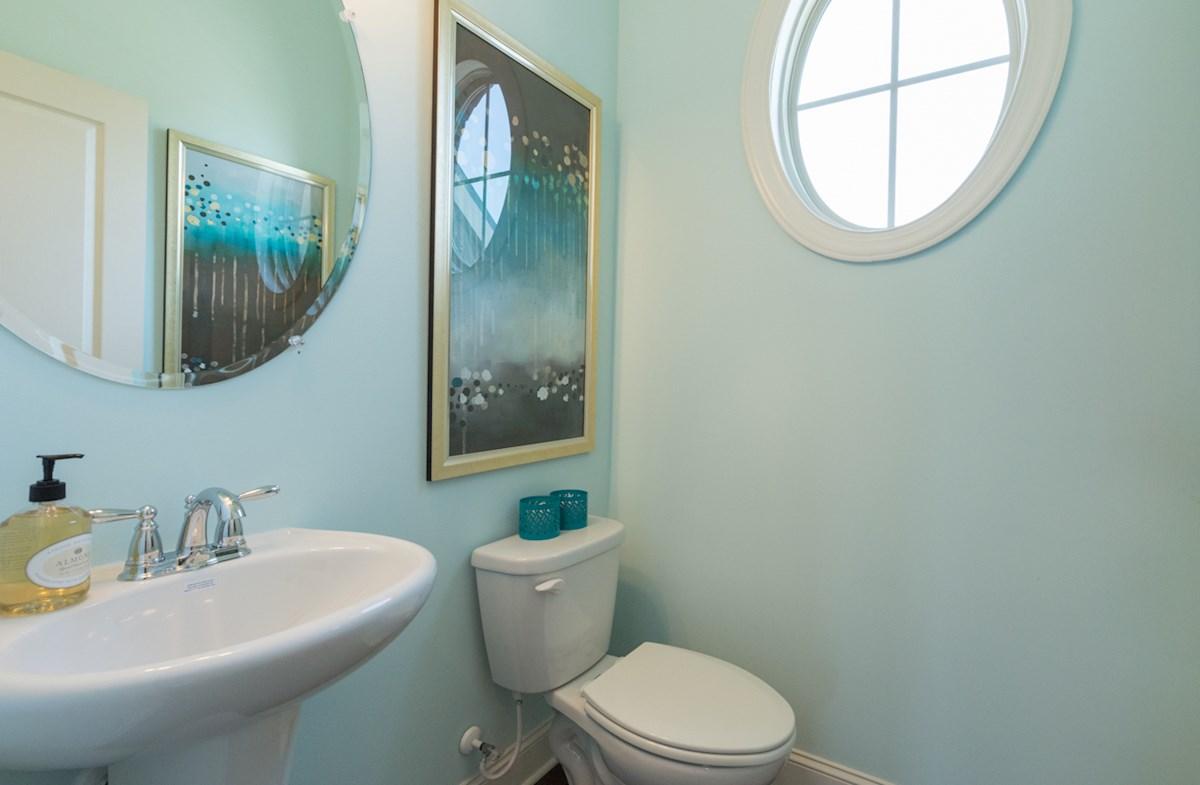 Hadley Township Ashland Beautiful and bright powder room