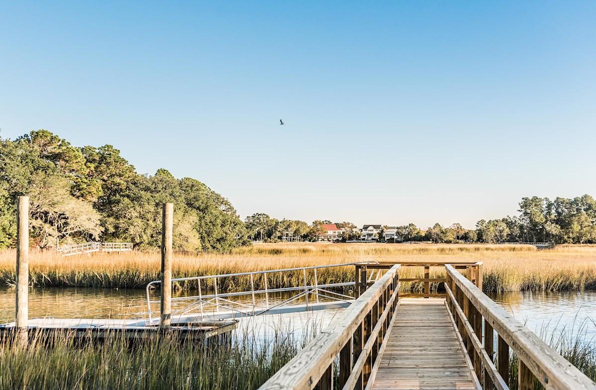 convenient pier and dock