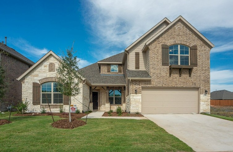 Kerrville Elevation French Country L quick move-in