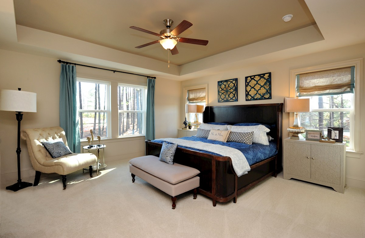 Stillwater Somerset private master bedroom