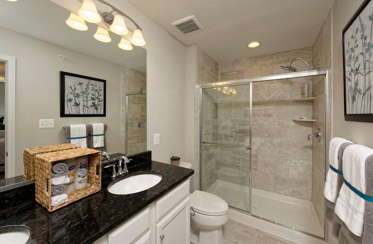 Ballard Green Frederick II luxurious master bathroom