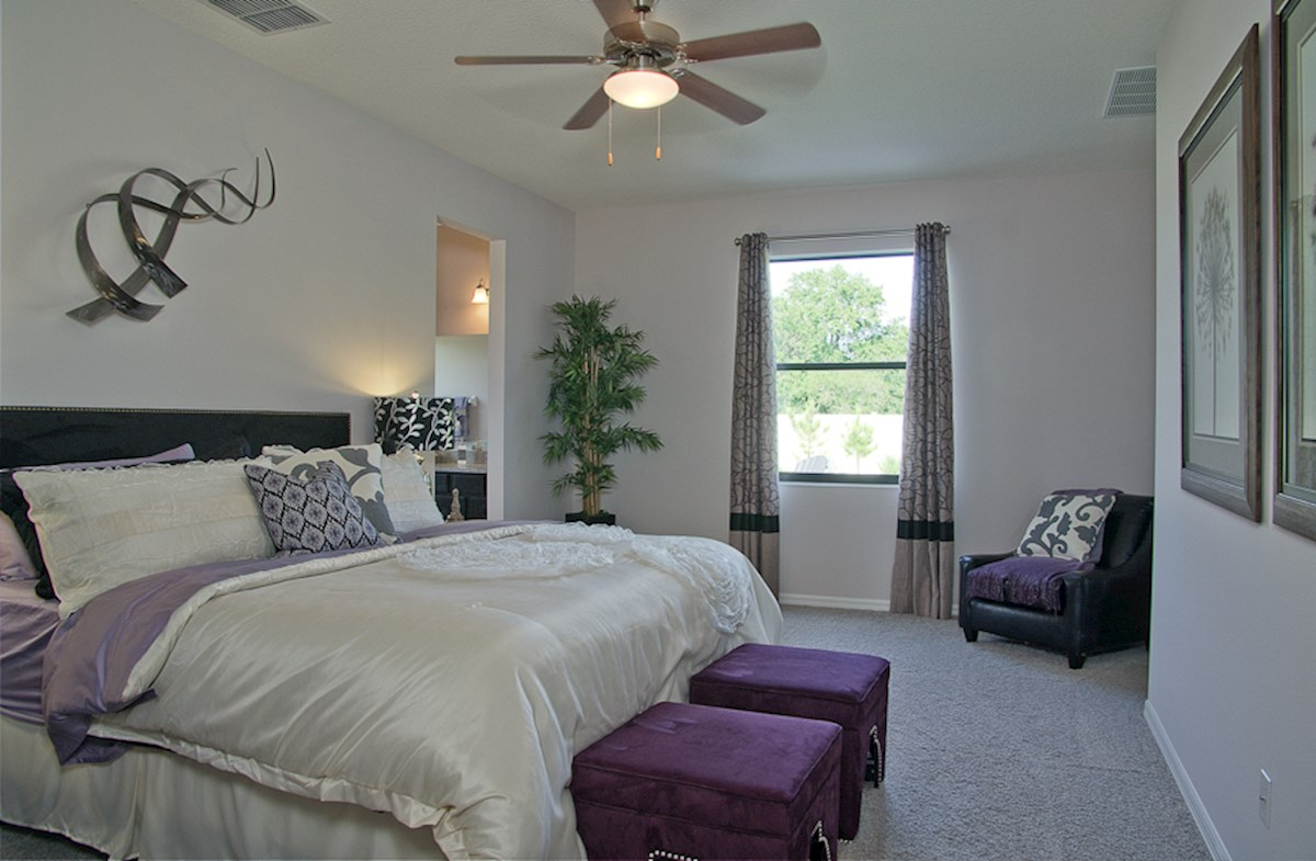 Reserve at Sawgrass St Augustine III spacious master bedroom