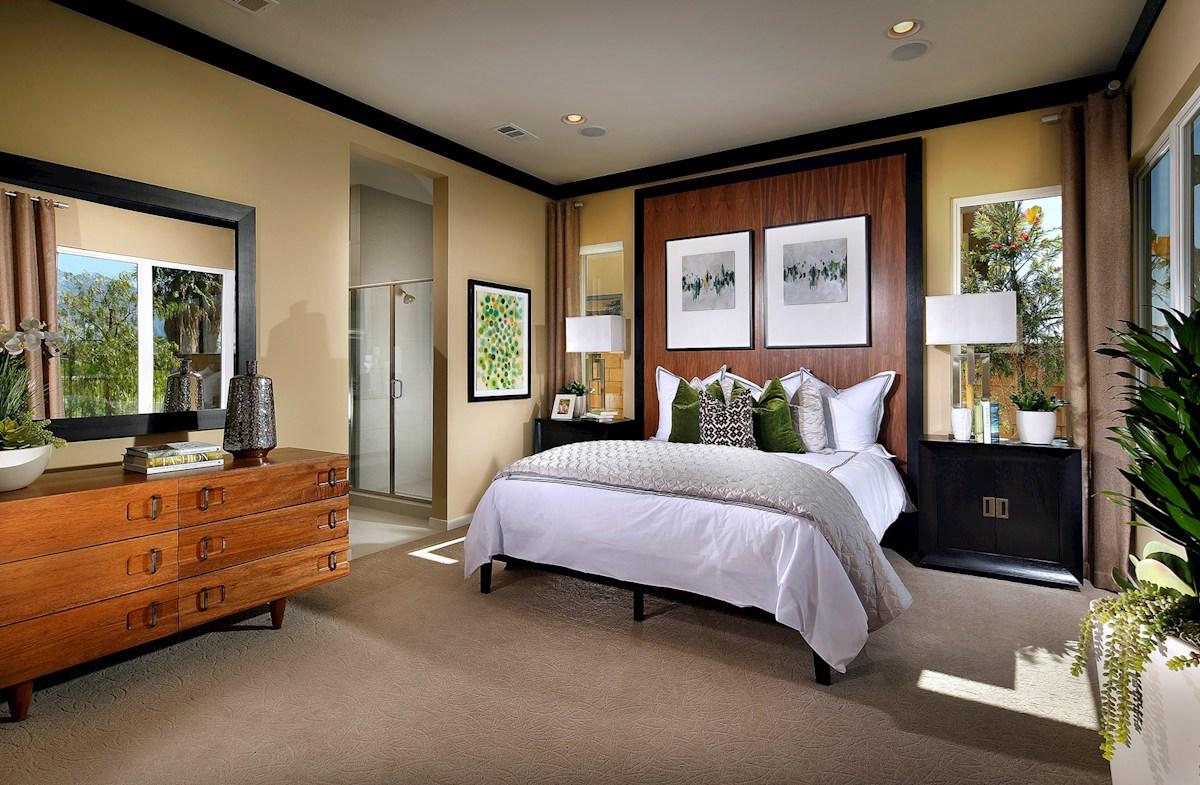 Vermillion at Escena Residence 2 naturally lit master bedroom