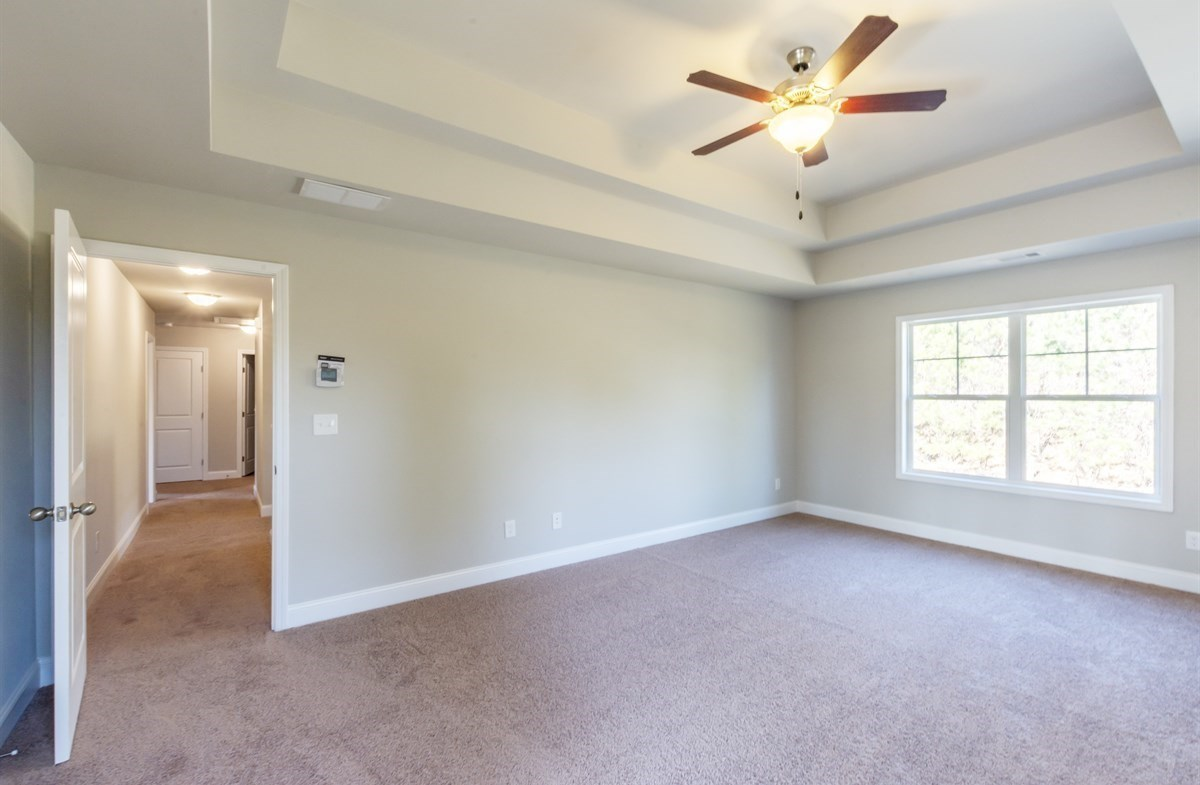 Bradshaw quick move-in Master Bedroom with tray ceiling