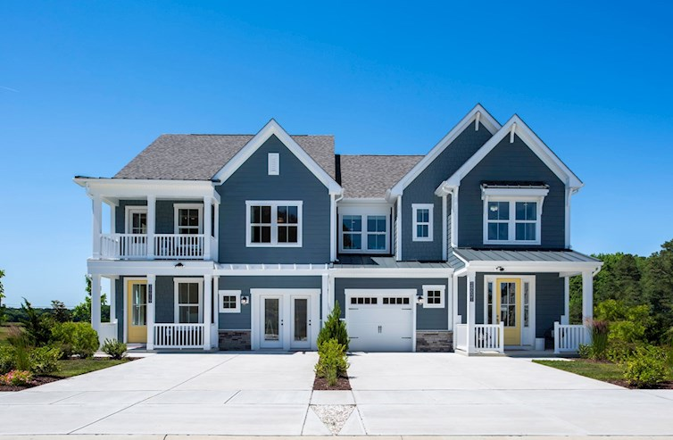 Rehoboth and Bethany exteriors in blue