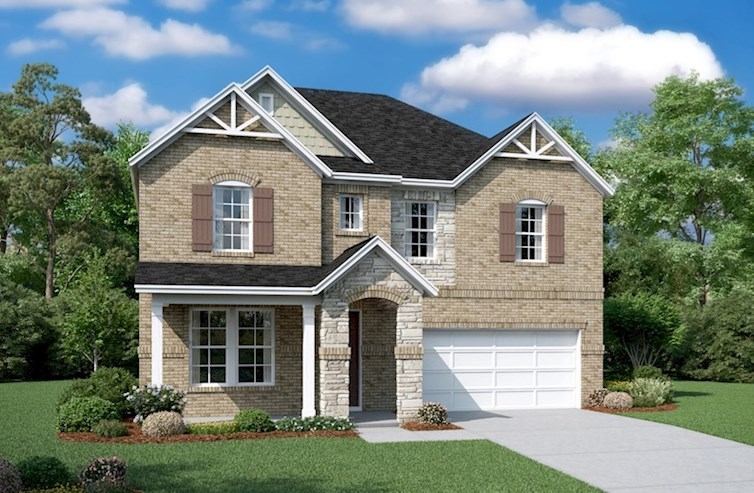 Landon Elevation French Country M