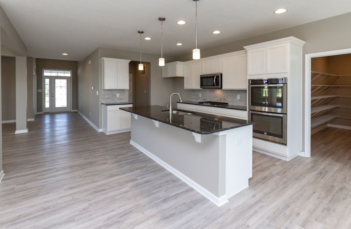 Whitley quick move-in Spacious kitchen island for casual dining