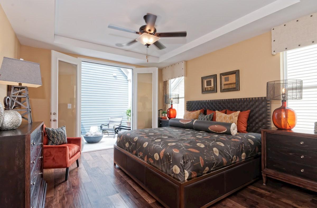 Bishop's Landing Milton capacious master bedroom