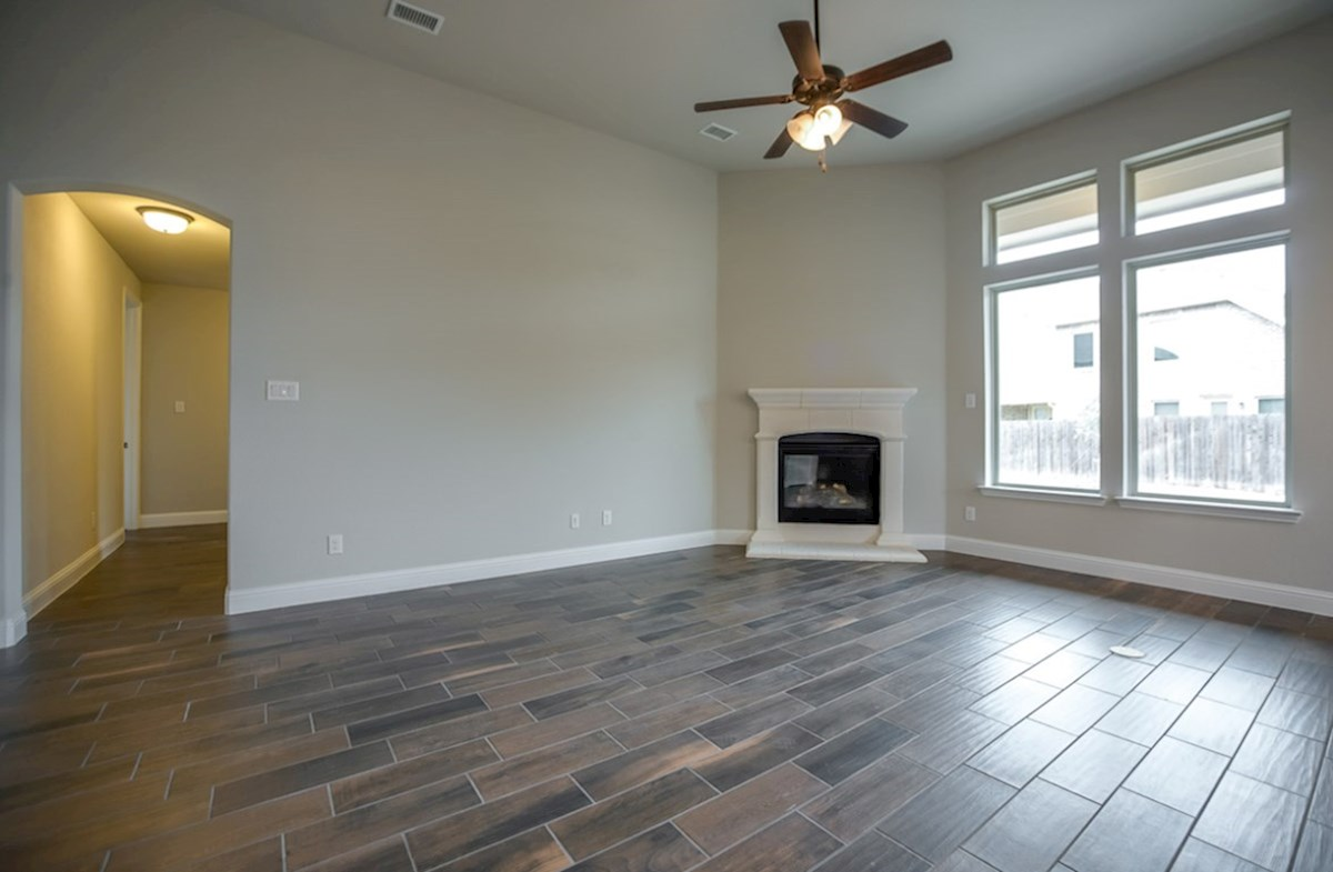 Blakely quick move-in fireplace in great room