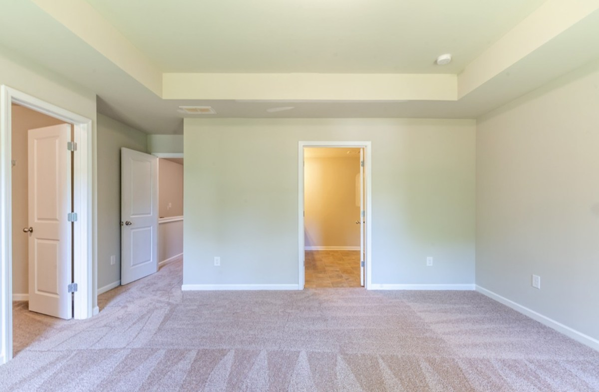 Burton quick move-in Master Bedroom with tray ceiling