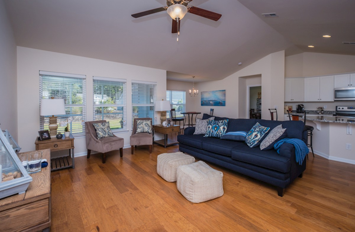 Summerton quick move-in open and inviting great room