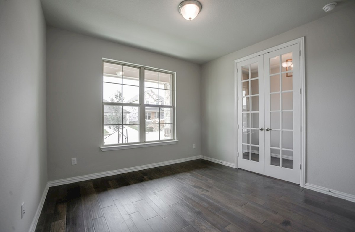 Brookhaven quick move-in private study with French doors and wood floors