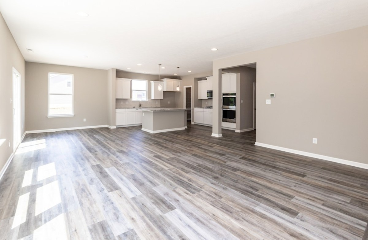 Shelby quick move-in great room with hardwood floors