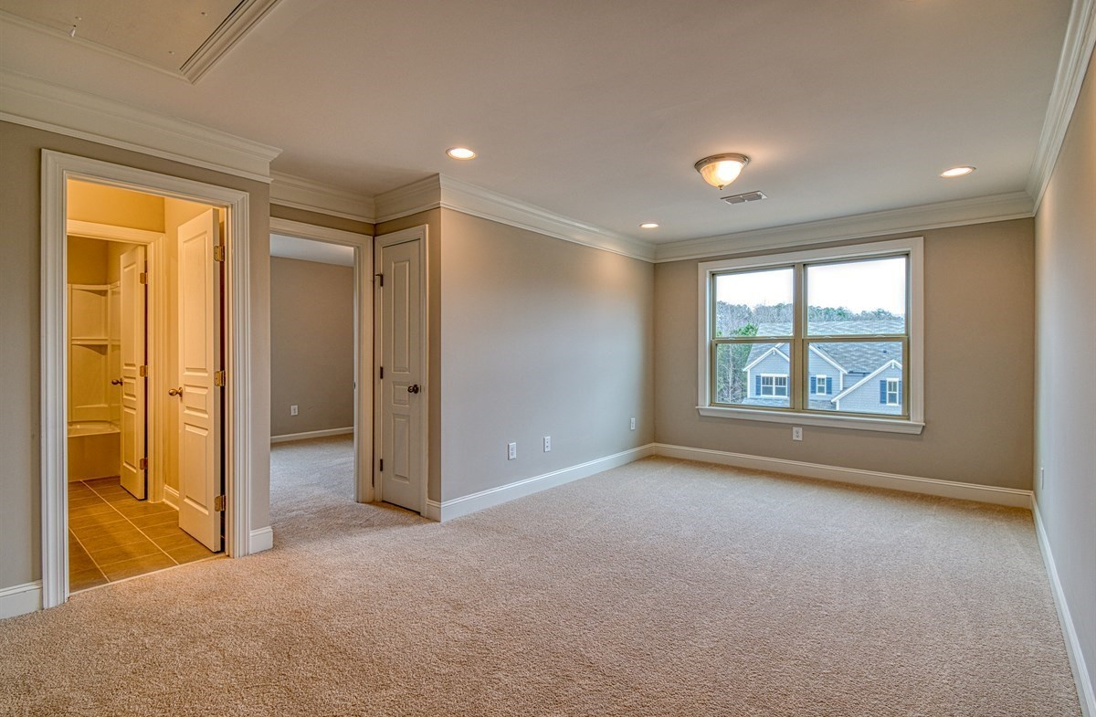 Chandler quick move-in Secondary Bedroom with crown molding