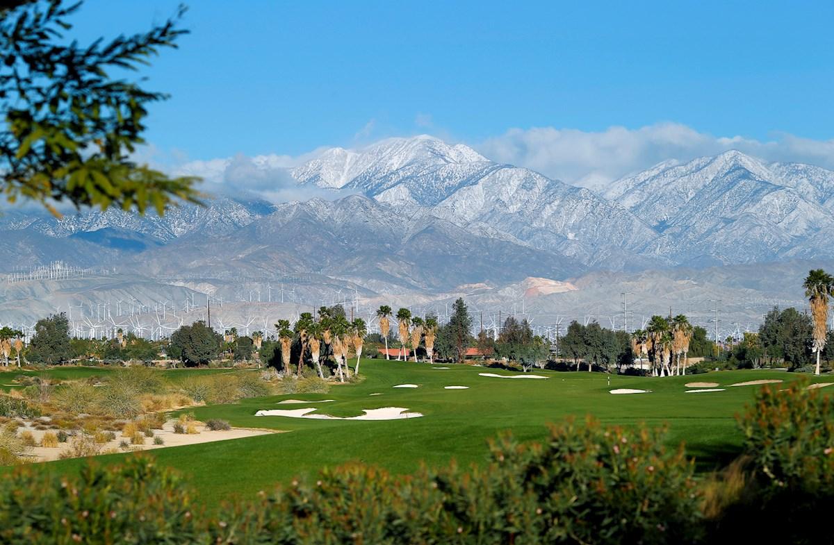 restaurant golf course view