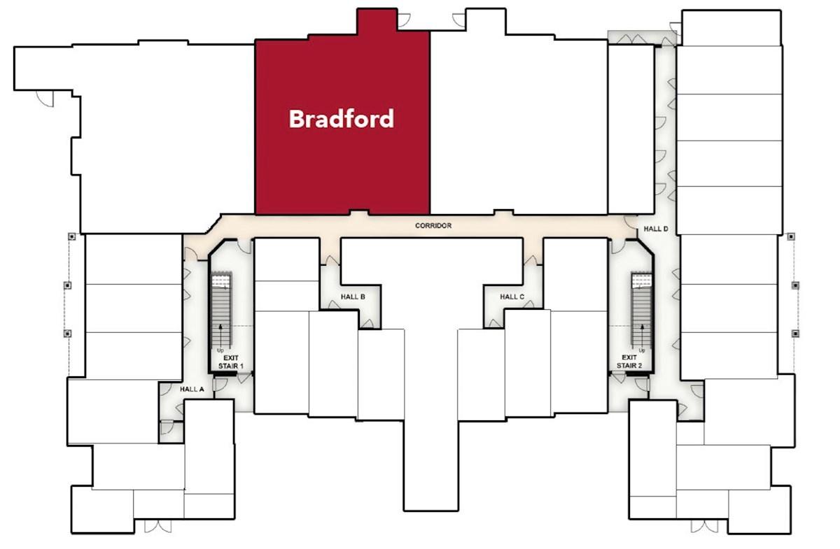Bradford quick move-in home location