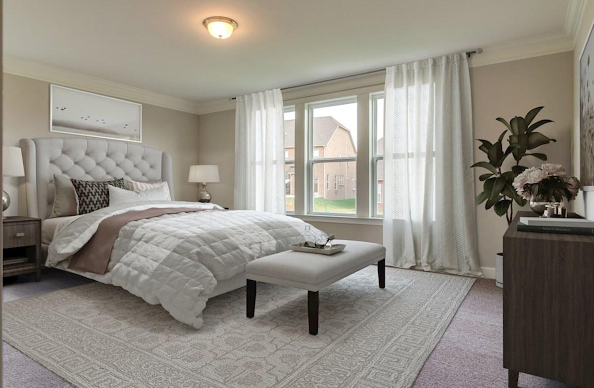 Herrington Dogwood II gracious master bedroom