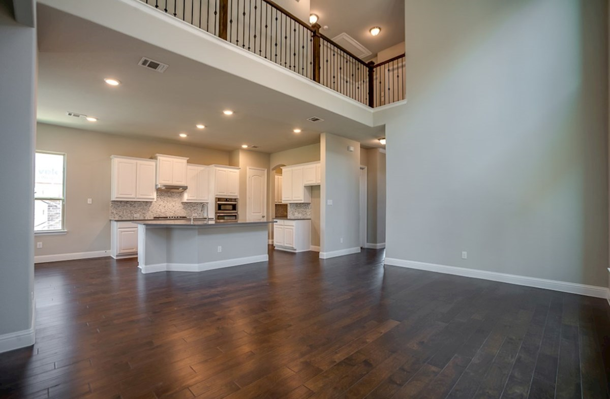 Whitney quick move-in great room with two-story ceilings