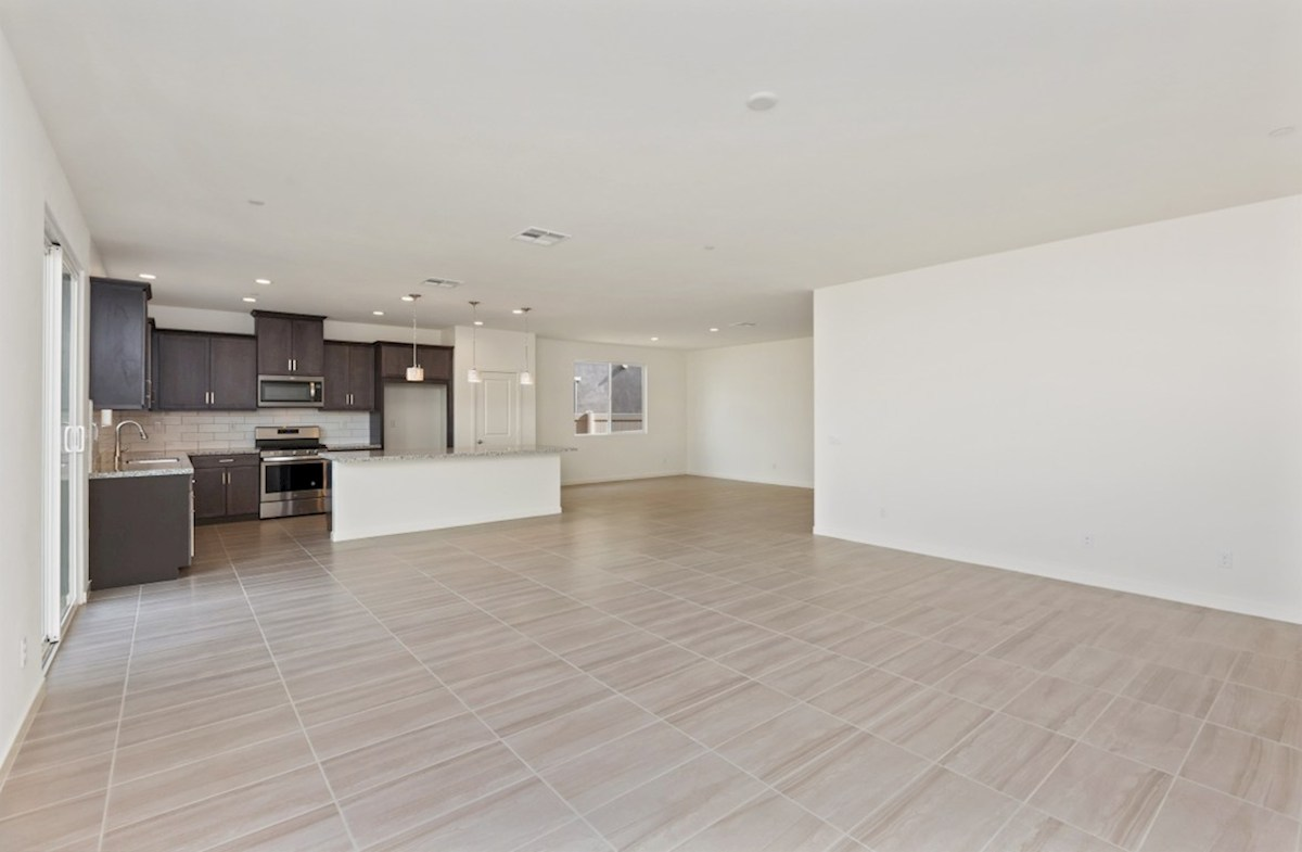 Piedmont quick move-in A spacious great room is the perfect space for family bonding