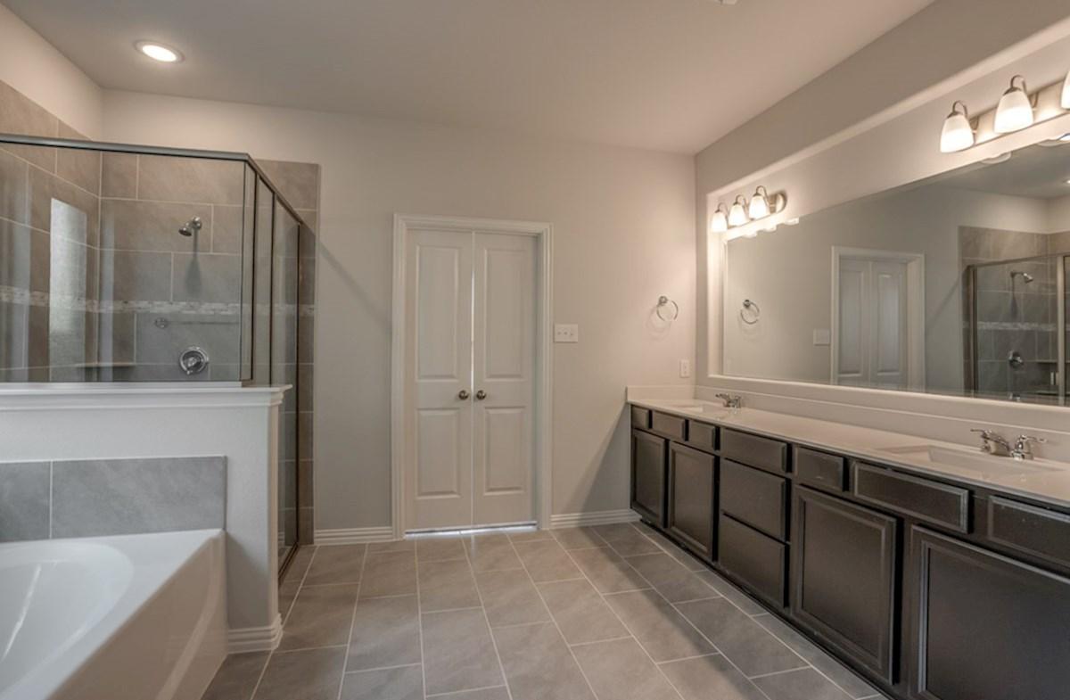 Blackburn quick move-in Blackburn master bathroom with separate shower and soaking tub