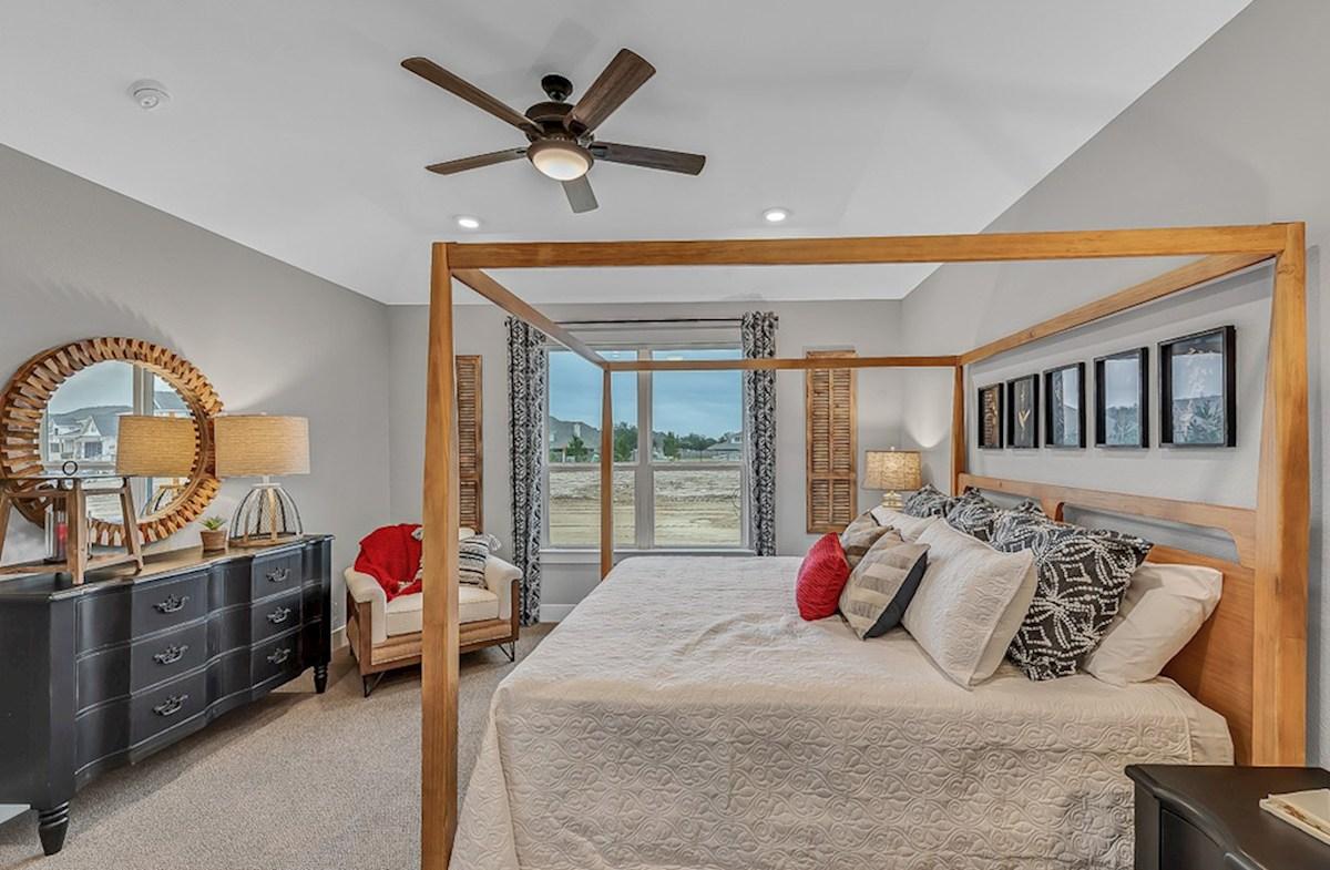 Magnolia Farms Sutton cozy master bedroom