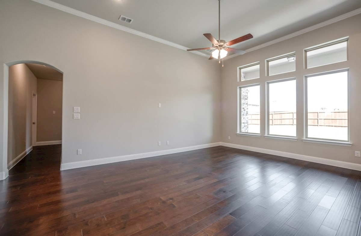 Blakely quick move-in great room with natural lighting