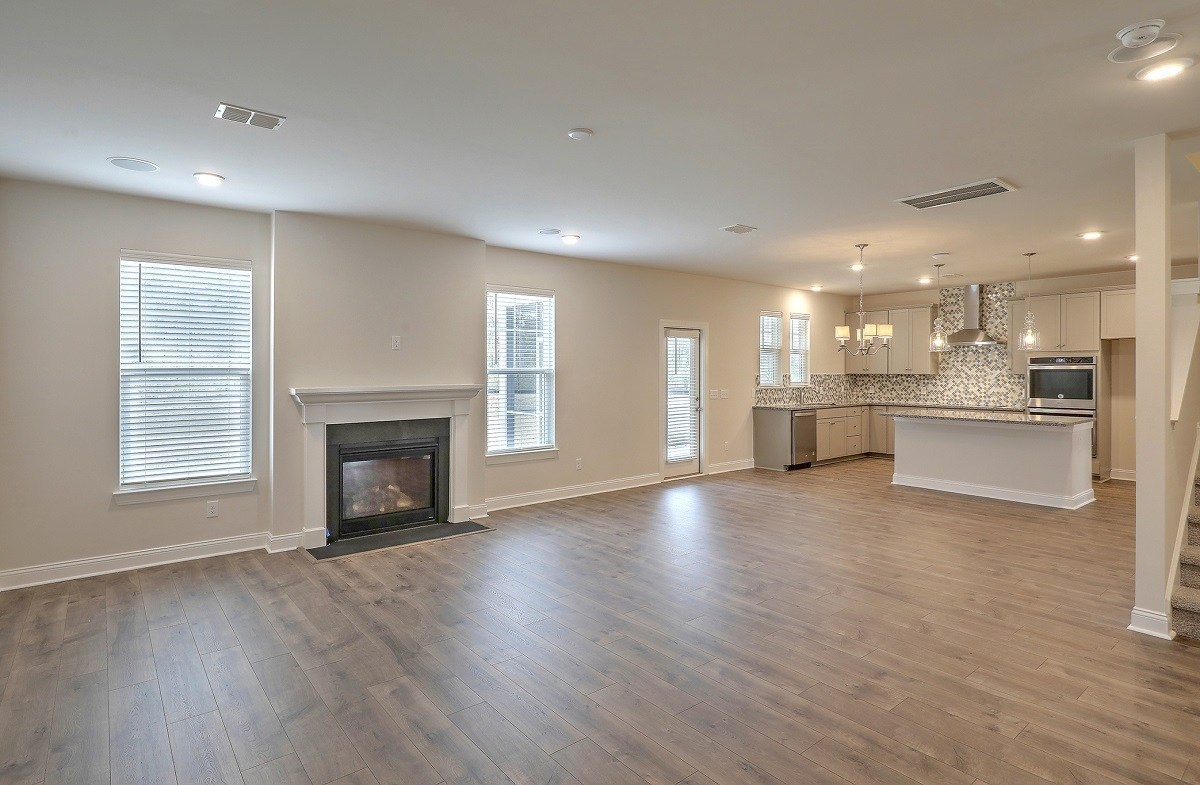 Jasmine Point at Lakes of Cane Bay Willow open great room