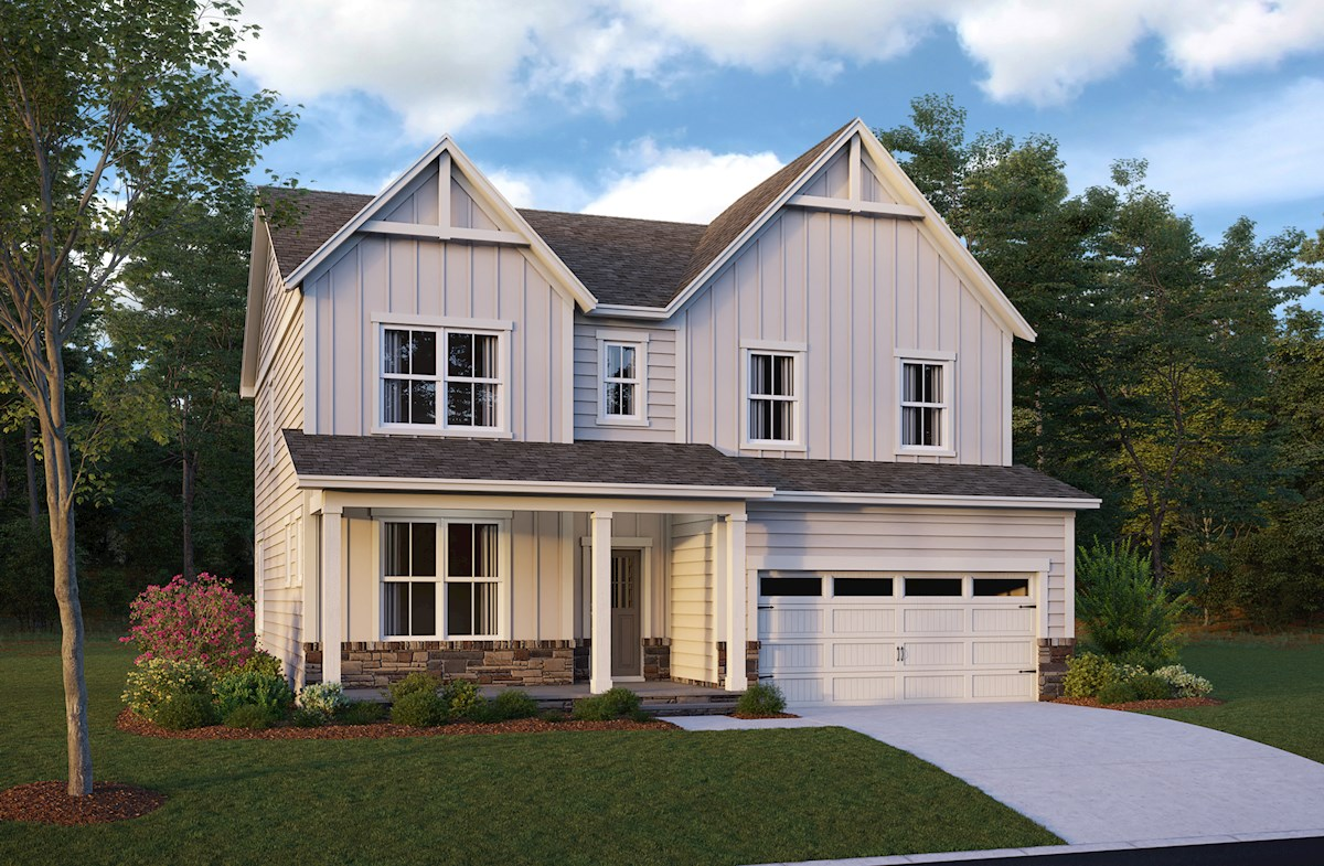 Morrisville, NC new homes thornebury at town hall