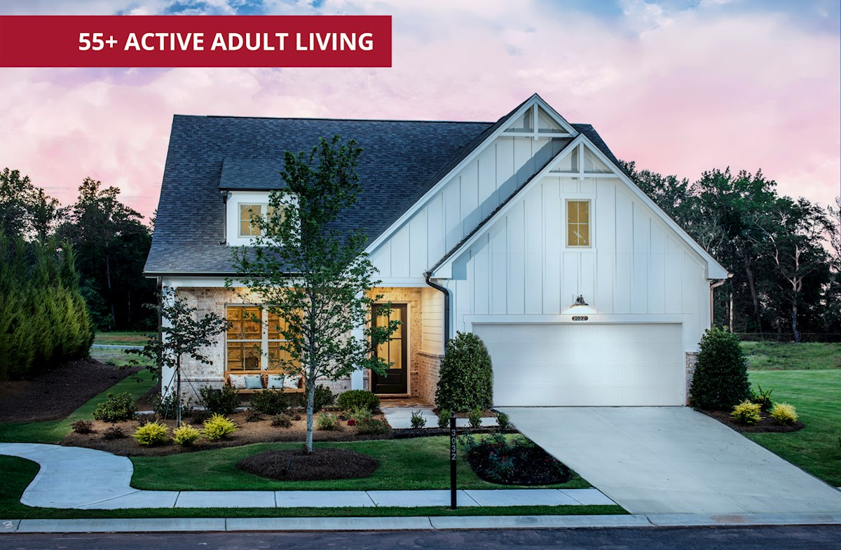 ranch style homes with 2-car garage