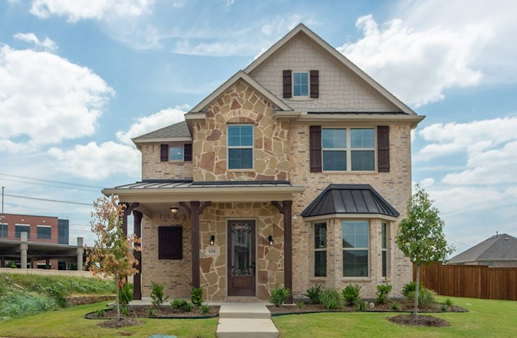 Fairfield Elevation French Country L quick move-in